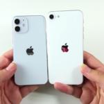 Сравнение размеров Айфон 12 мини и Айфон 6, 6s, 7, 8, СЕ (2020)
