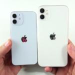 Сравнение размеров Айфон 12 мини c Айфон 11, Xr