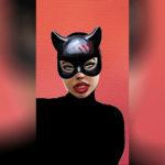 Маска женщины-кошки в Инстаграм. Как найти?